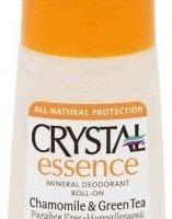 Crystal Essence Deodorant Chamomile & Green Tea Roll On 66ml