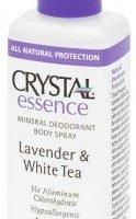Crystal Essence Deodorant Lavender & White Tea Spray 118ml