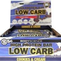 Bsc High Protein Bar Cookies & Cream 8x60g