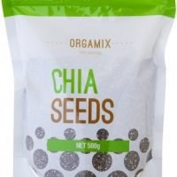 Orgamix Natural Chia Seeds G/F 500g