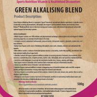 Greens alkalising blend 500g