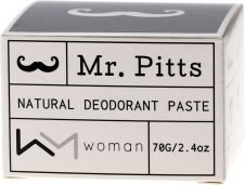 MR PITTS Woman Natural Deodorant Paste 70g