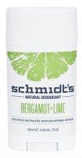 SCHMIDT'S Deodorant Stick Bergamot & Lime 75g