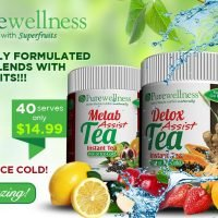 Instant Energy Tea Pomegranite Kiwi & Lime 200g 40 serves