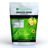 PureWellness Holistics Energizer Greens with real Lemon 250g