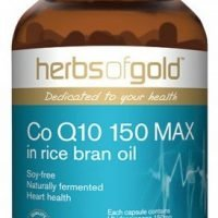 Herbs of Gold Co Q10 150 MAX in rice bran oil
