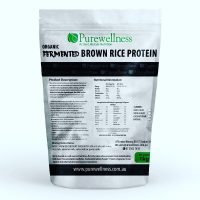 Organic Fermented Sprouted Whole Grain Brown Rice Protein 1kg