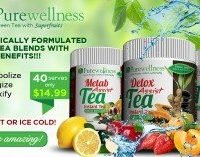 Purewellness Detox Assist Green Tea with superfruits