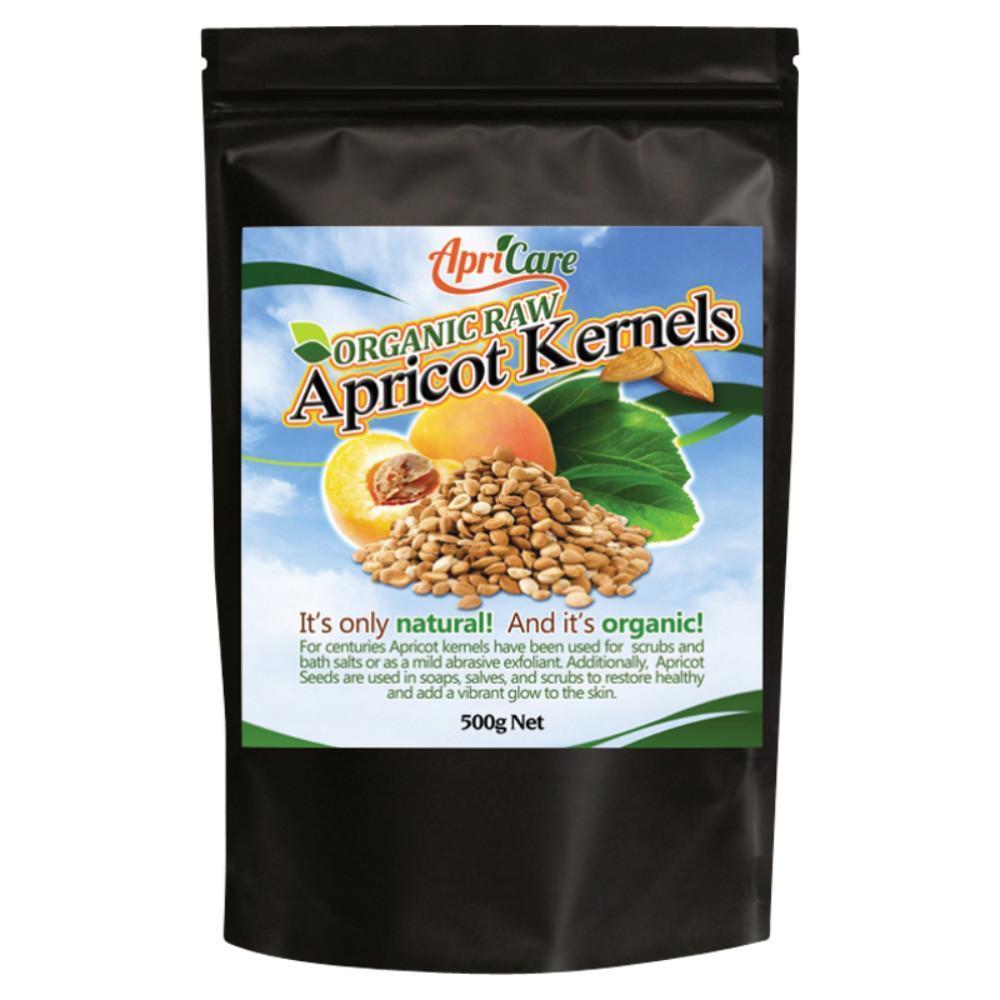 APRICARE Apricot Kernels Organic Raw 500g
