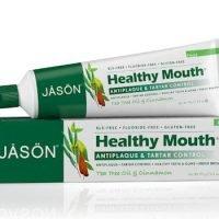 Jason Healthy Mouth Tartar Control Toothpaste Fluoride-Free Paste