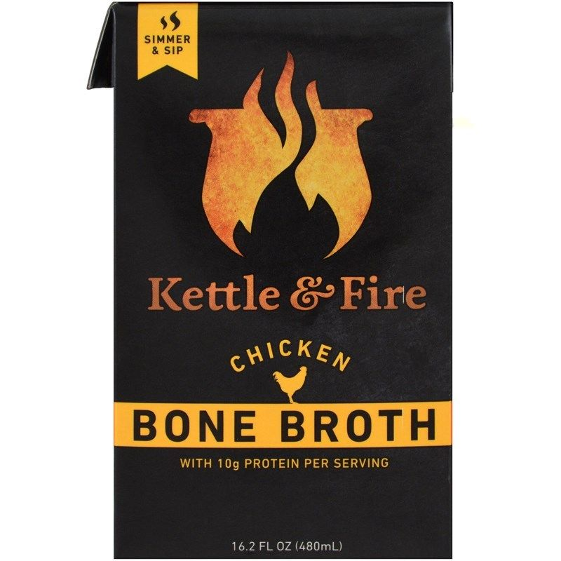 Kettle & Fire, Bone Broth, CHICKEN, (480 g)