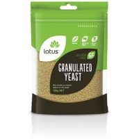 Lotus Granulated Yeast 100g NET