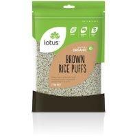 Lotus Organic Brown Rice Puffs 175gNET