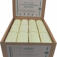 HEMP & LEMON SCENTED GUM 100G NATURES GIFTS SOAP