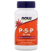 Now Foods, P-5-P, 50 mg, 90 Tablets