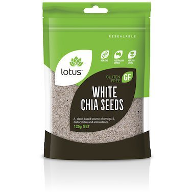 Lotus White Chia Seeds 125gNET