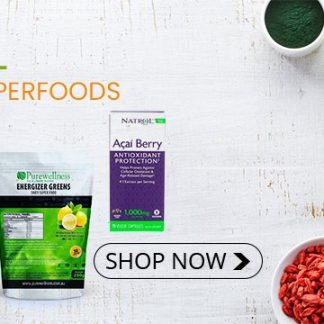 Natural & Organic Superfoods