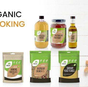 Natural Organic Baking & Cooking