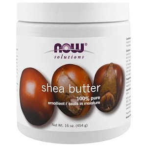 Now Foods, Solutions, Pure Shea Butter,  (454 g)