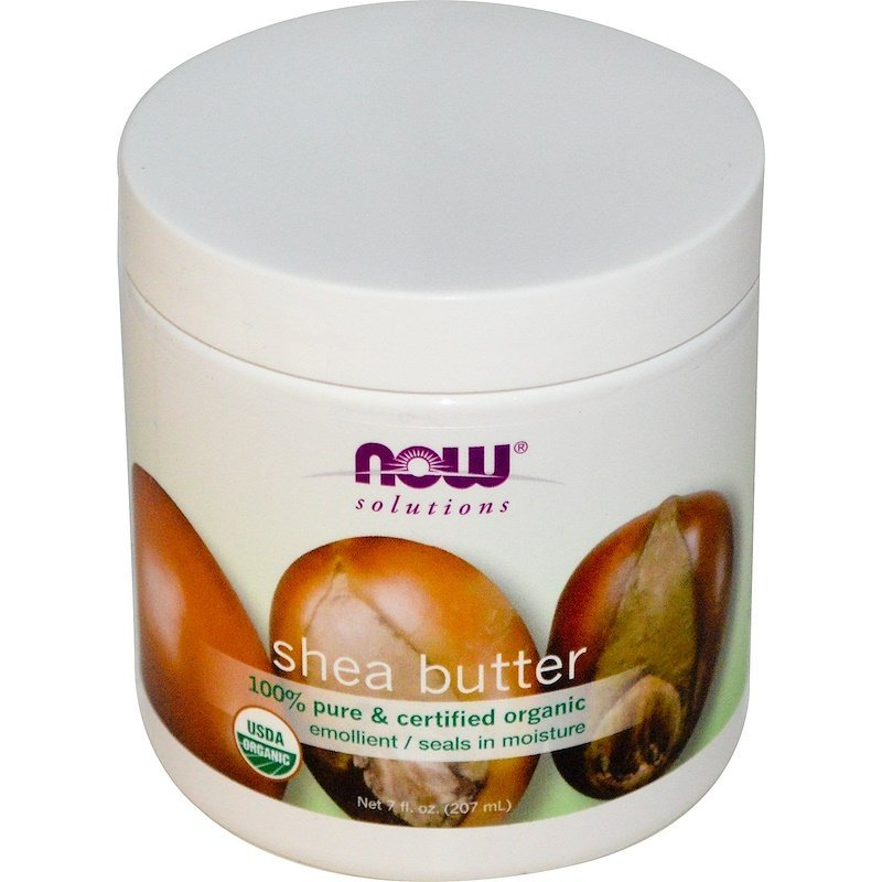 Now Foods, Solutions, Shea Butter, Certified Organic, (207 ml)