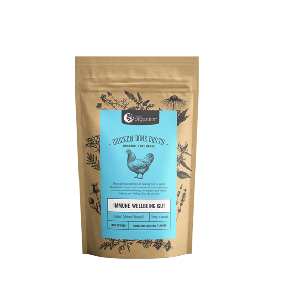 CHICKEN BONE BROTH HOMESTYLE ORIGINAL 100G