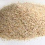 a mound of grain-like substances