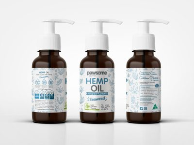 Hemp Oil Seaweed 100ml (Cats & Dogs)