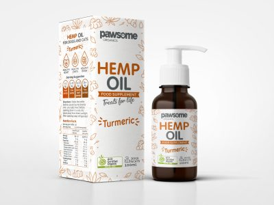 Hemp Oil Turmeric 100ml (Cats & Dogs)