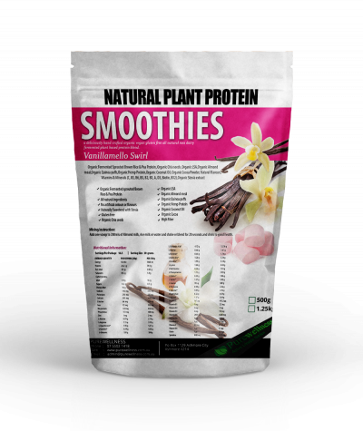 Vegan Plant Protein Vanillamello swirl