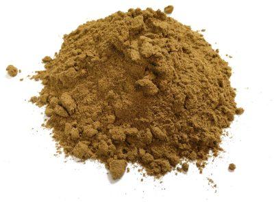 a brown powder